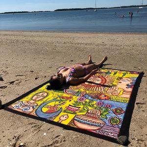🏝beach spread tapestry handmade Multiuse sheet🎁